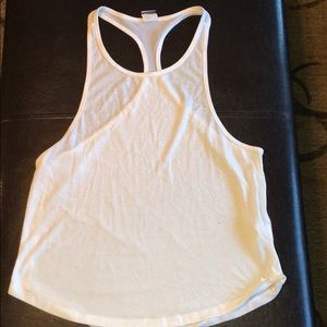 Nike Dri-Fir white tank M/L